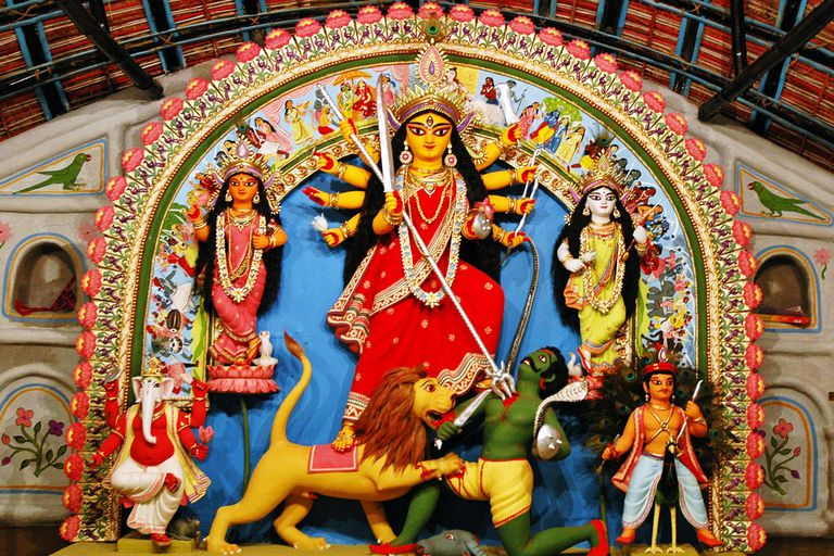 The Goddess Durga The Mother Of The Hindu Universe