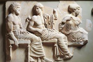 Greek civilization, pentelic marble frieze of Parthenon by Phidias