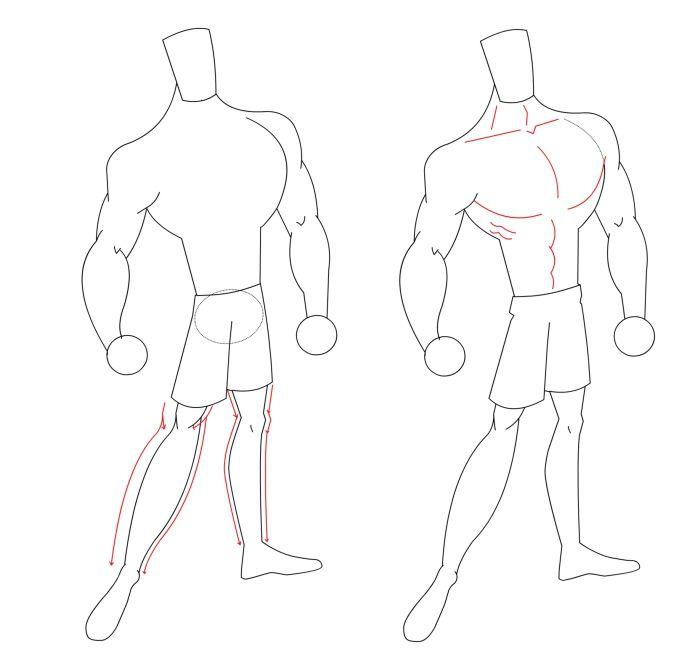 Draw a cartoon super hero hunk draw a cartoon hero body draw the legs altavistaventures Images