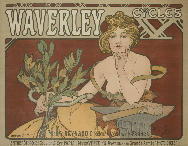 waverley cycles advertisement
