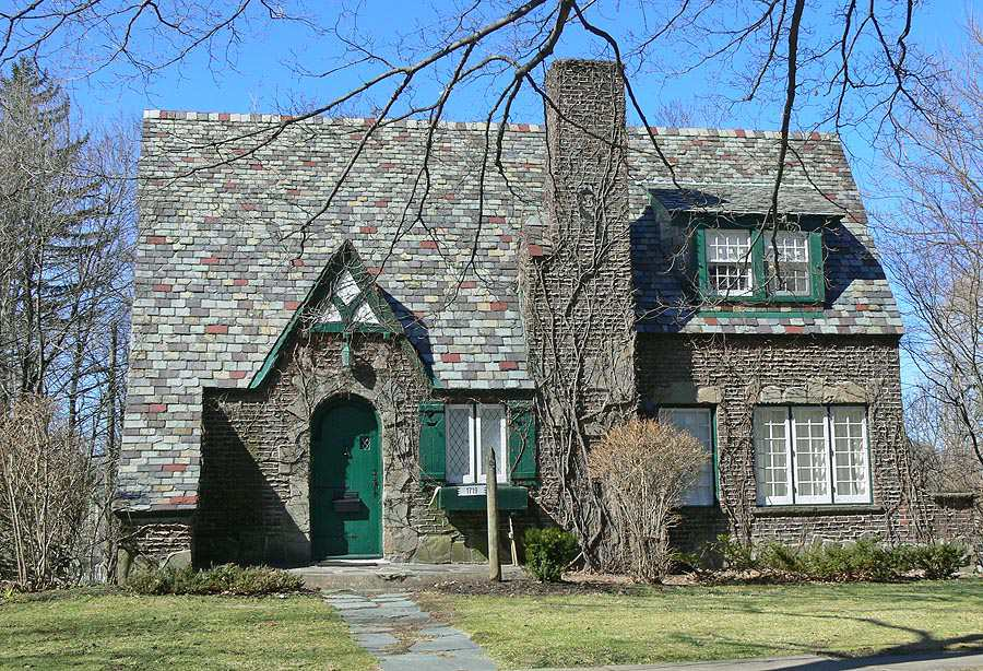 Tudor Cottage: Variation sur le style néo-Tudor