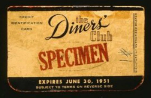 The Diner's Club Card