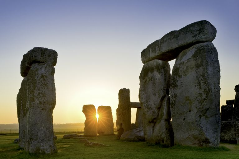 Stonehenge, near Salisbury, Great Britain