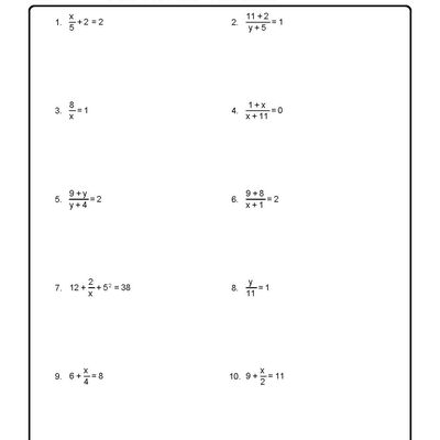 How To Solve A System Of Linear Equations