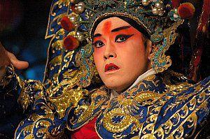 Chinese Opera. Beijing Opera performer.