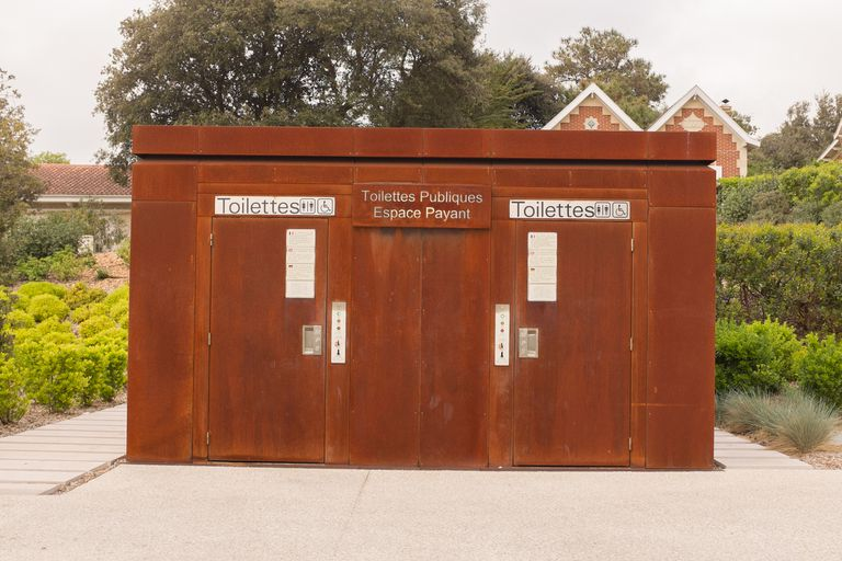 French public toilets (toilettes publiques)
