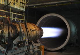 Jet engine testing facility, Kadena AFB, Japan