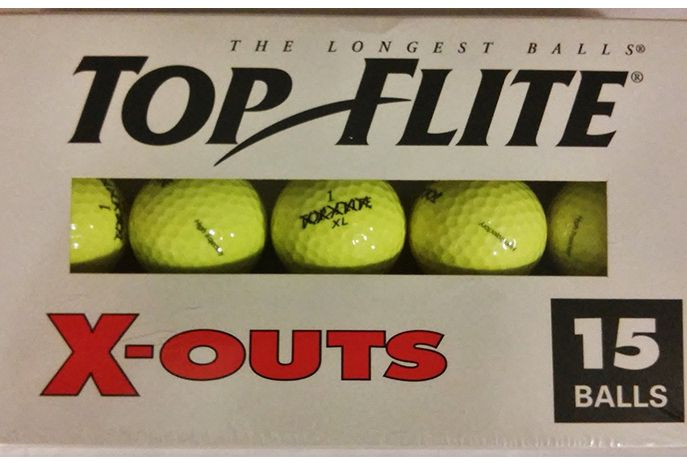 TopFlite x-out golf balls.