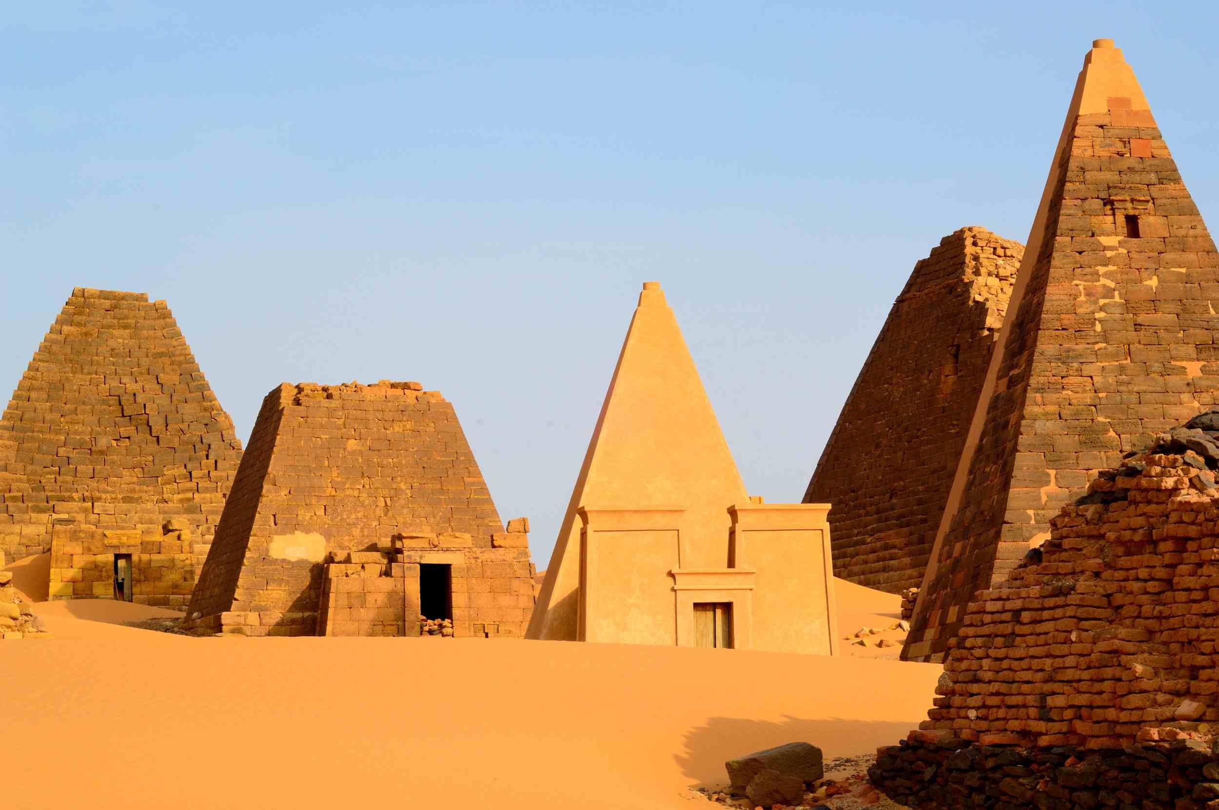 Meroe, Capital City of the Kushite (Nubian) Kingdom, Egypt