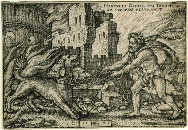 hercules and pegasus greek mythology