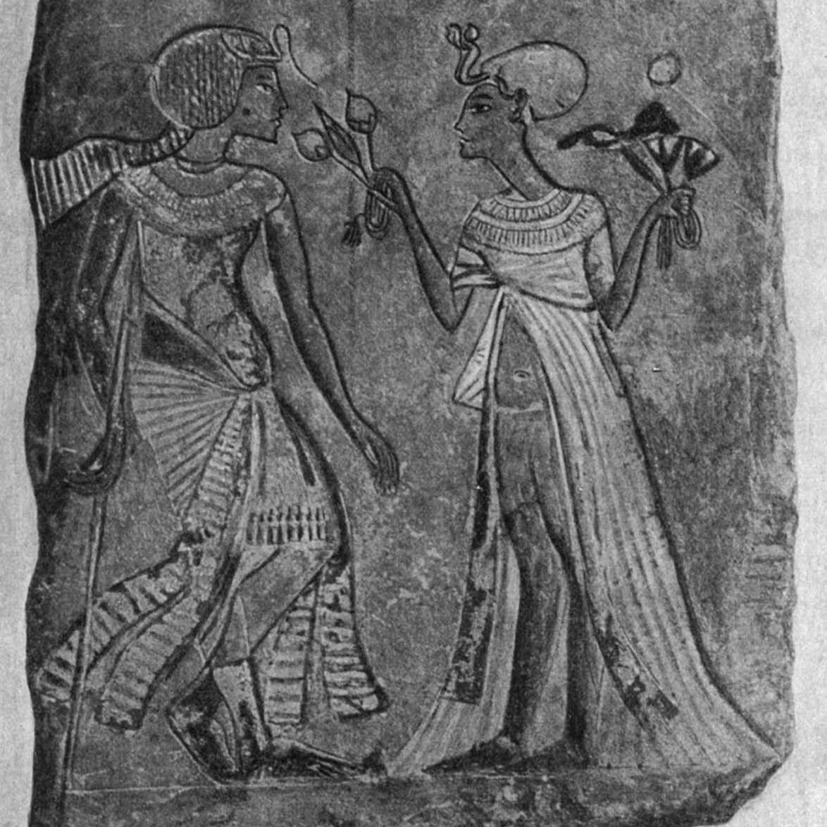 Akhenaten and Nefertiti