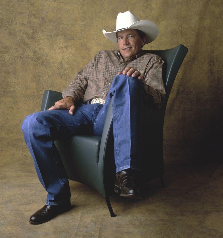 Portrait of George Strait