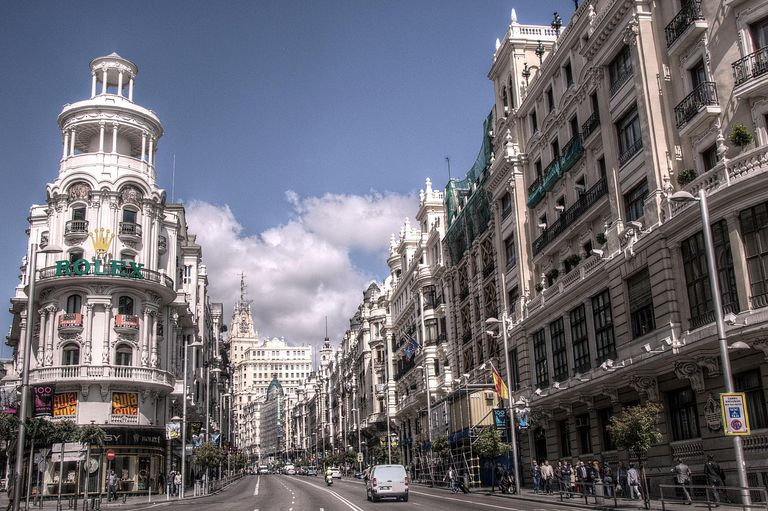Gran V&iaute;a of Madrid
