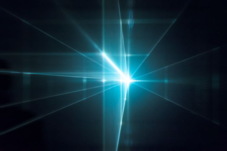 A photon is a packet of light or electromagnetic radiation.