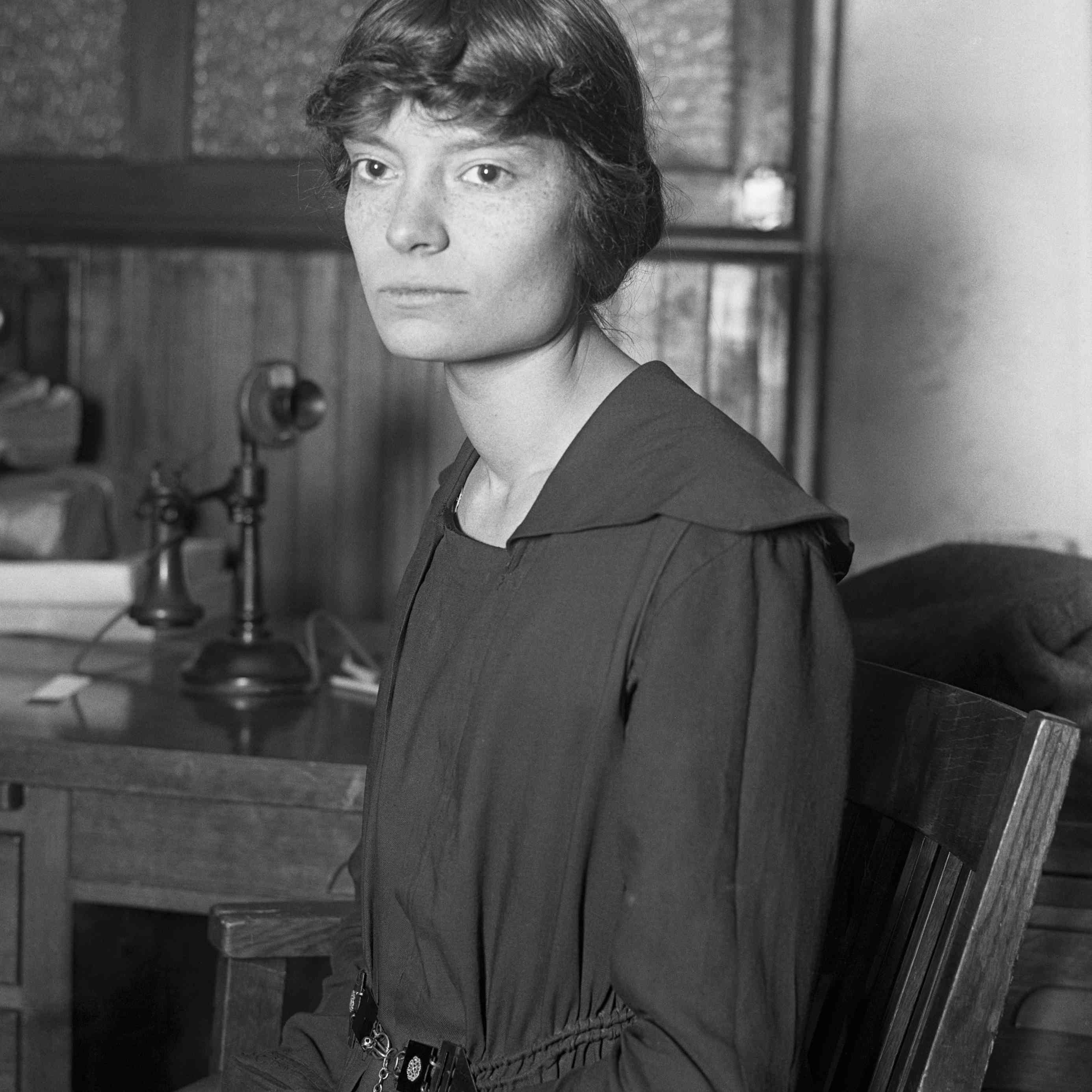 Dorothy Day (1897-1980), American journalist and reformer in 1916
