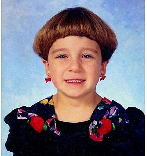 Bilderesultat for worst haircut kids