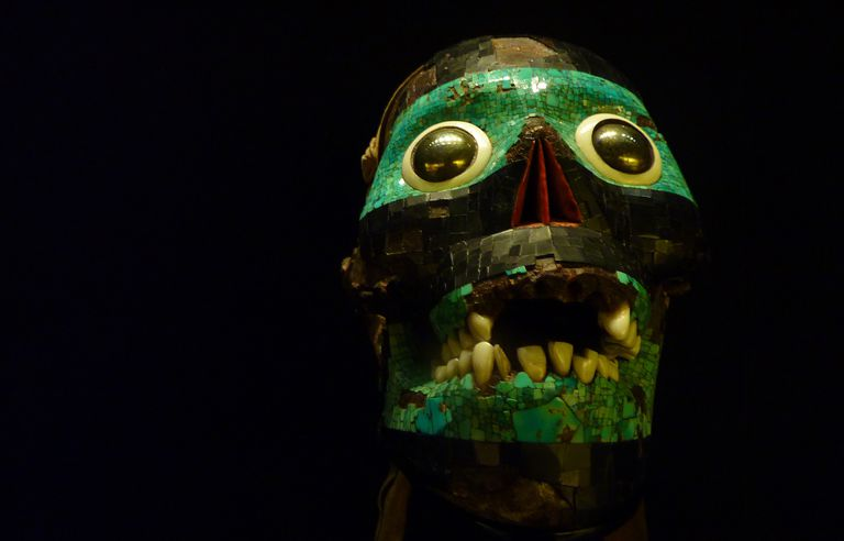 The Skull of the Smoking Mirror, Cult Representation of Tezcatlipoca
