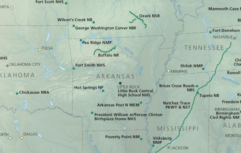 Arkansas National Parks