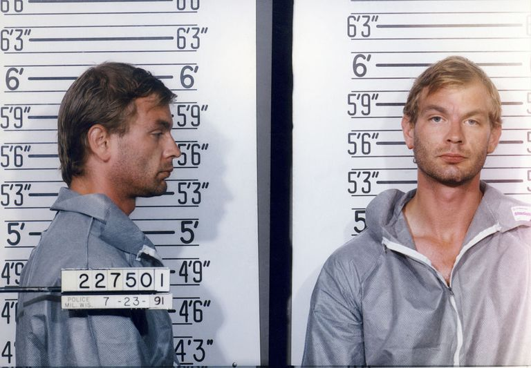 American serial killer Jeffrey Dahmer