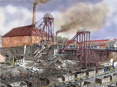 why did the industrial revolution happen in britain