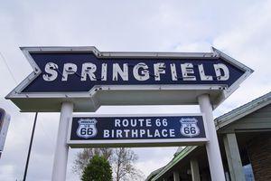 Springfield Missouri sign