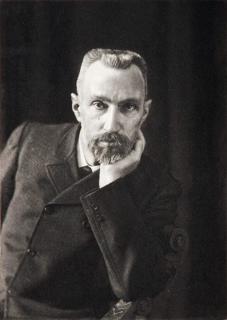 Pierre Curie was a co-discoverer of radium and polonium and one of the founders of modern physics.