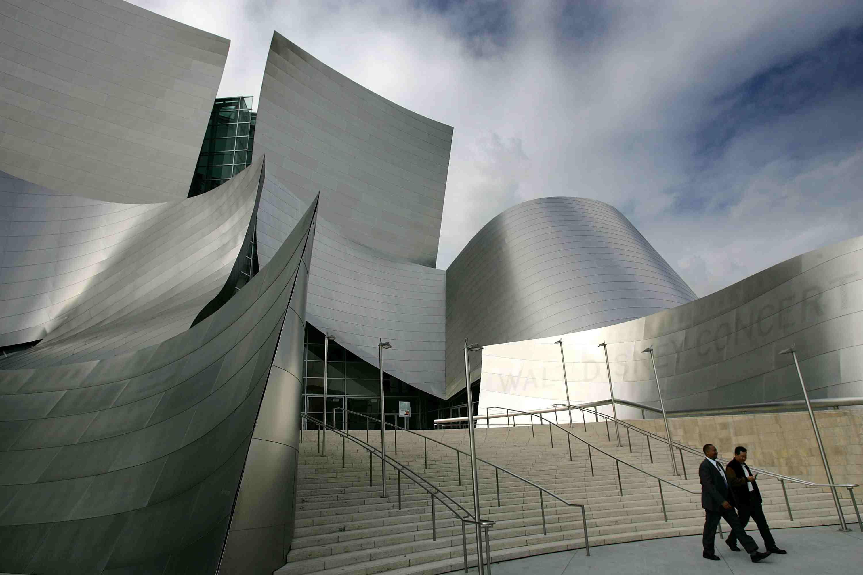Walt Disney Concert Hall, California.