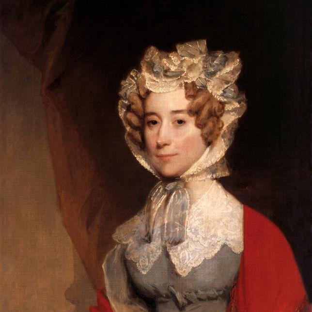 Painting of Louisa Catherine Johnson Adams