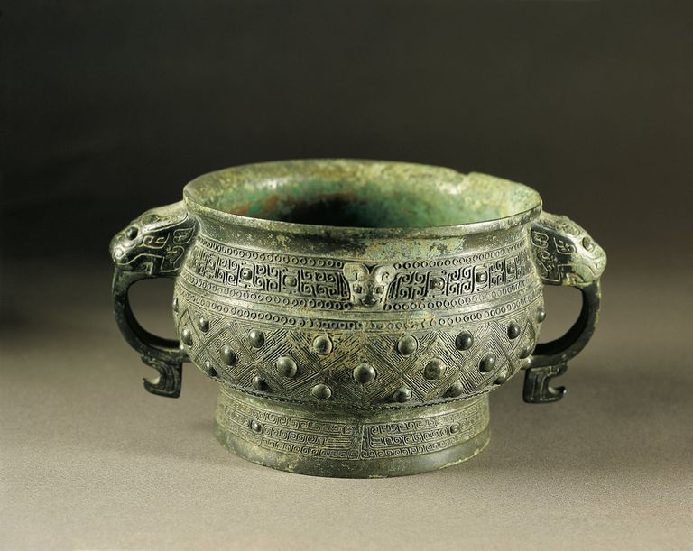 Bronze kuei (food vessel), Shang dynasty