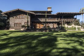 The Gamble House in Pasadena, California, Inspired by the Arts & Crafts Movement