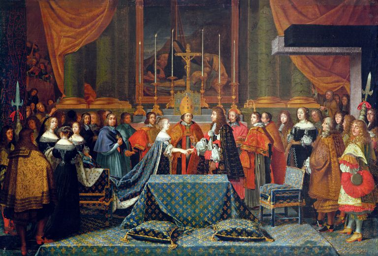 Wedding of Louis XIV