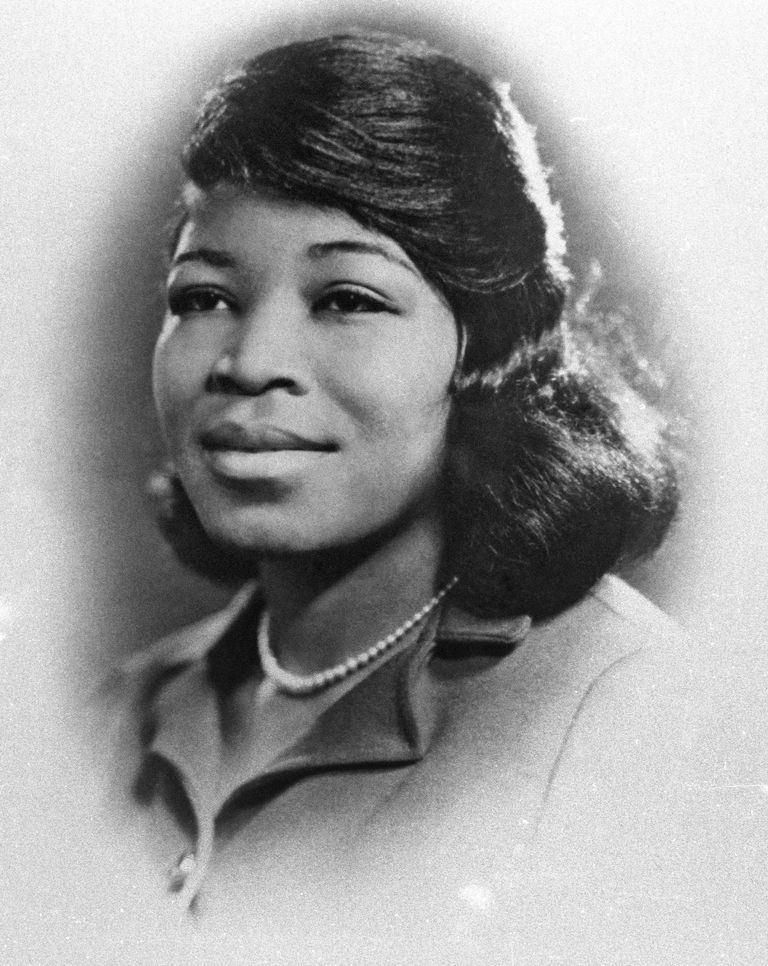Portrait Of Betty Shabazz