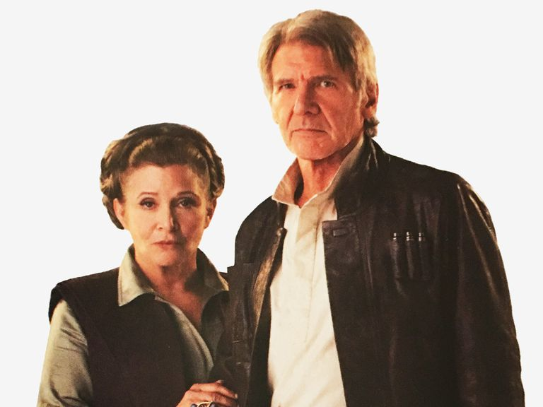 General Leia Organa and Han Solo