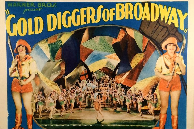 Gold Diggers of Broadway lobby card