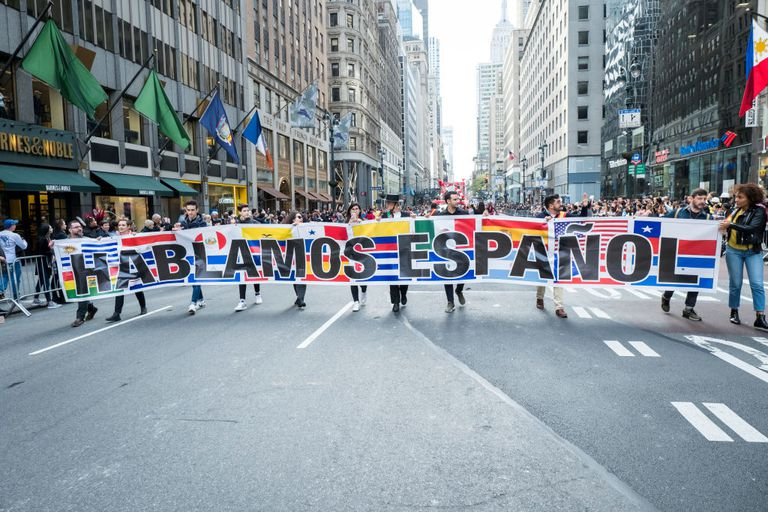 55th Hispanic Heritage Day Parade : NYC