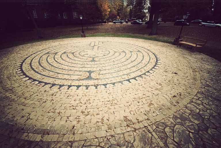 Hendrix College - Labyrinth