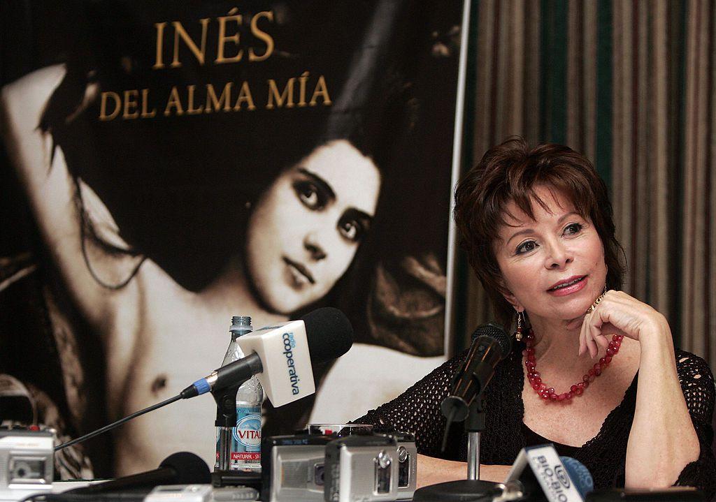 Isabel Allende presents her book