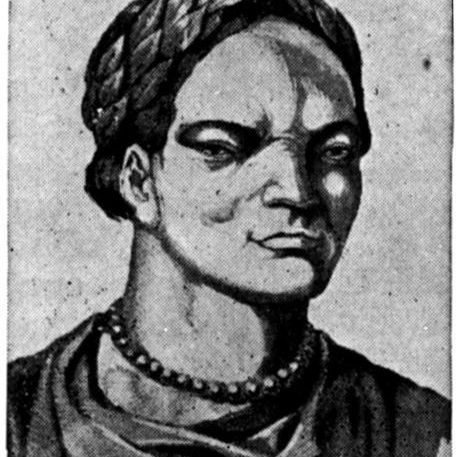 Bust of Attila the Hun