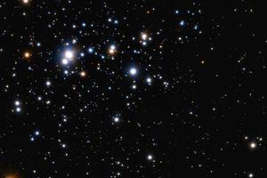 trumpler 14 and massive stars