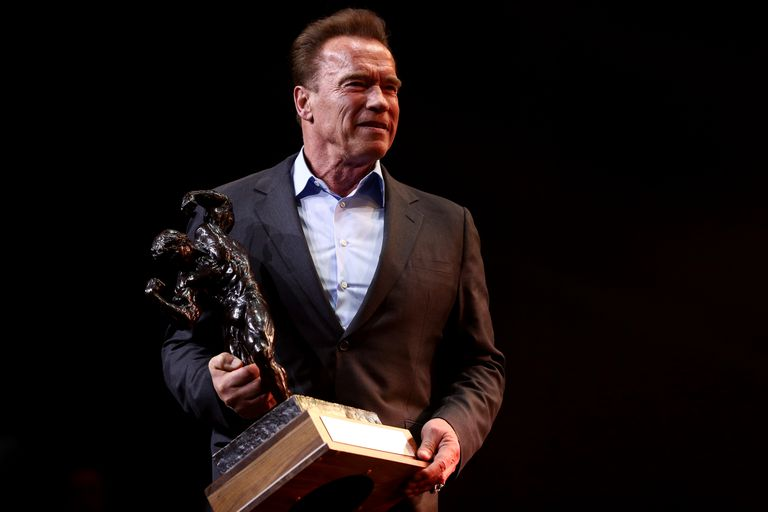 Arnold Schwarzenegger at Sports Festival 2017