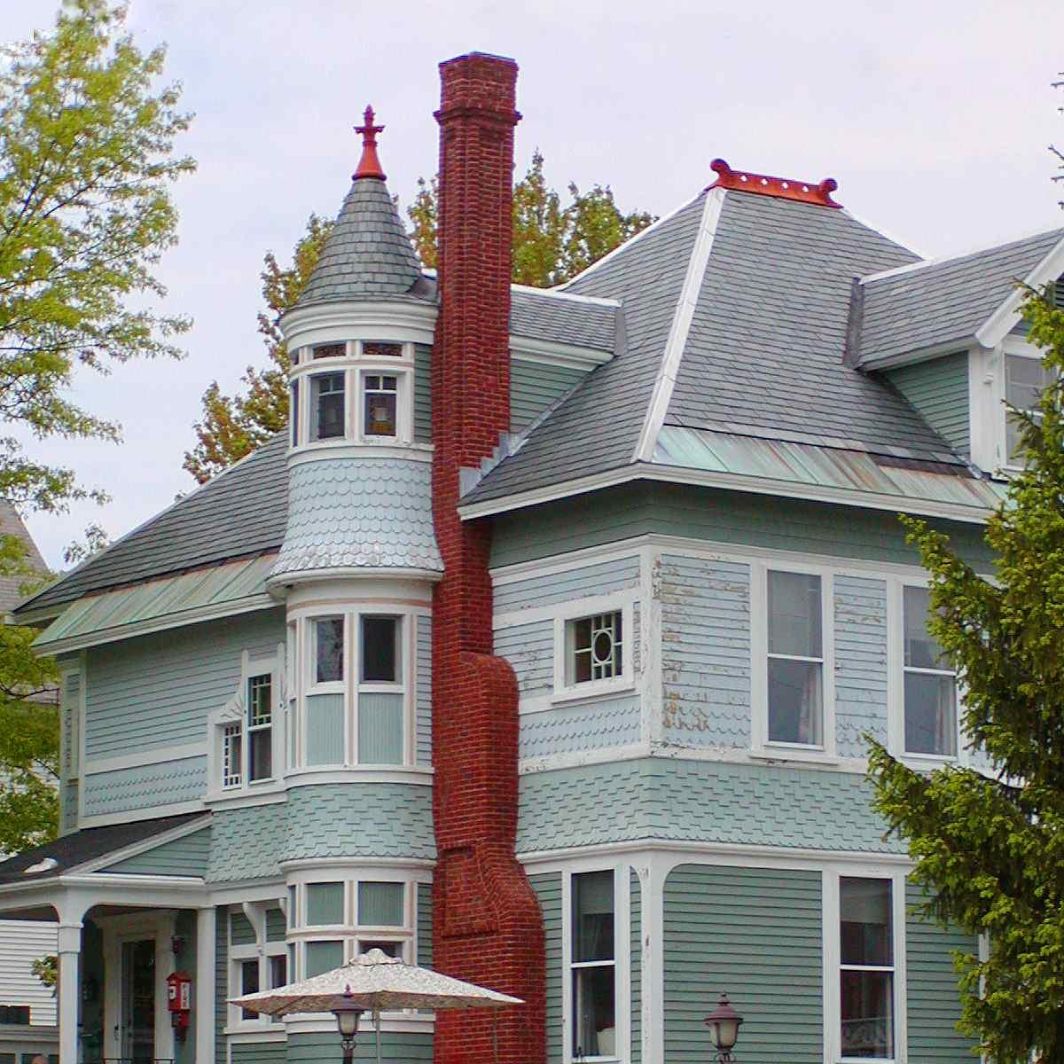 Photo du style Queen Anne Ash Street Inn
