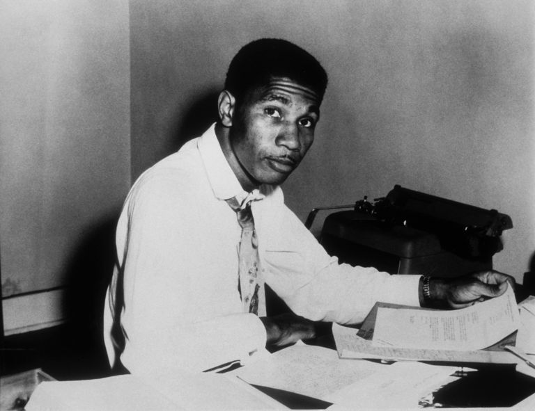 Portrait Of Medgar Evers