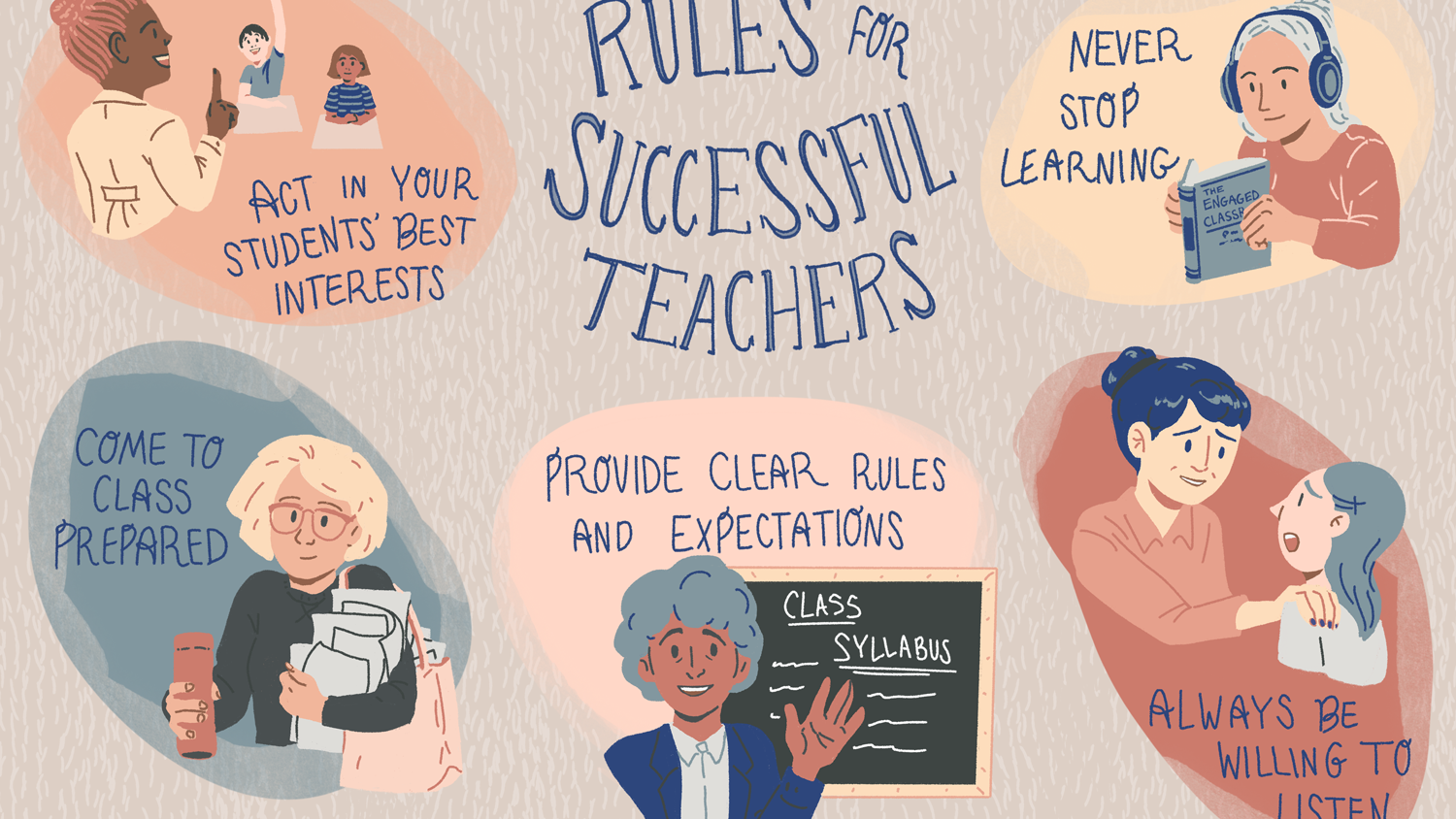 24 Simple Rules That Every Teacher Should Live By