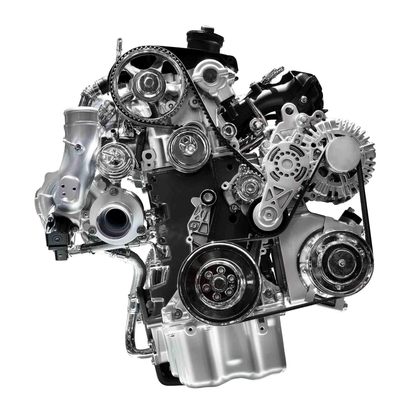 Internal combustion car engine