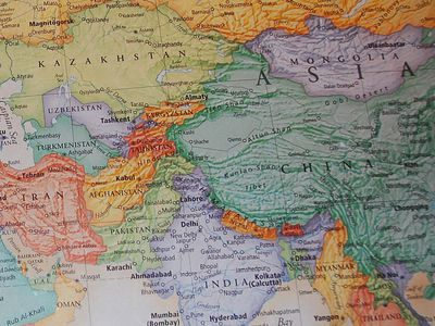Geography and Economy in Modern History of China
