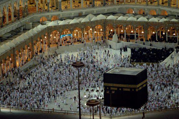 the black stone of Mecca
