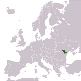 Location of Molodovo District of Ukraine in Europe
