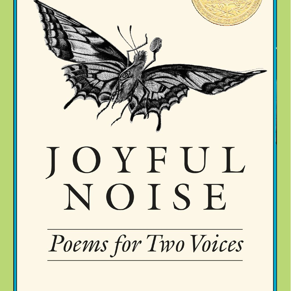 Joyful Noise: Poems for Two Voices - Cover art