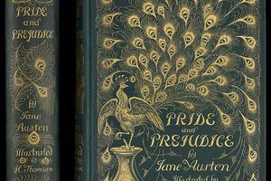 """The famous """"peacock cover"""" 1894 edition of Pride and Prejudice"""