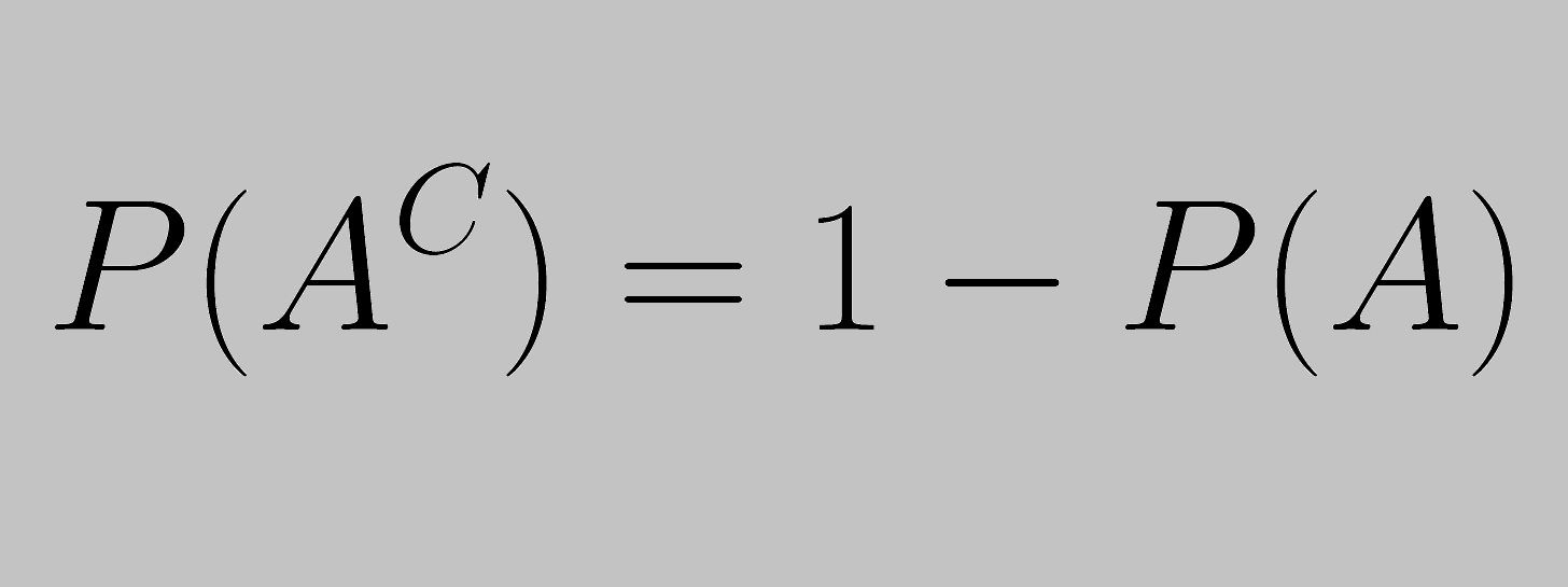 How to Use the Complement Rule in Statistics